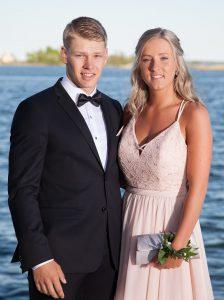 Fotograf i Karlskrona. Studentfotografering Isak och Julia