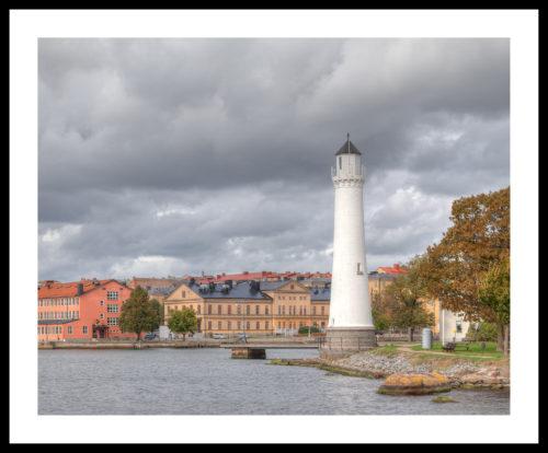 Fyren på stumholmen. Karlskrona
